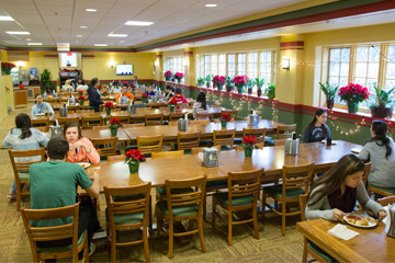 Busey dining hall