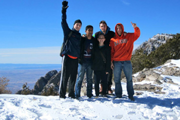 Students on trip to New Mexico